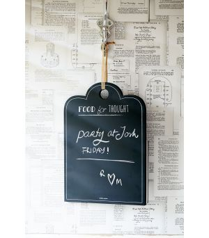 Tabulka Food For Thought Chalk Board