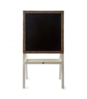 Rustic Rattan Chalkboard