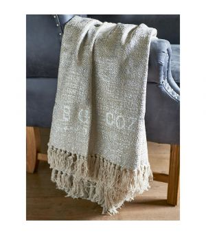 RM Let's Get Cozy Throw silver 170 x 130