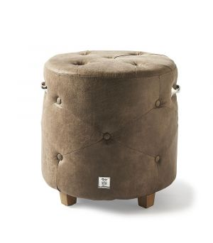 Bowery Footstool, Pellini, Coffee