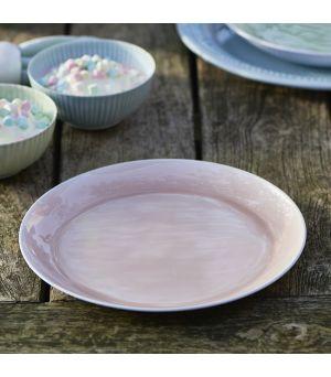 Talíř Botteghe pink plate