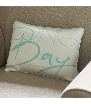 Návlek na polštář Long Bay Pillow Cover blue 40 x 30