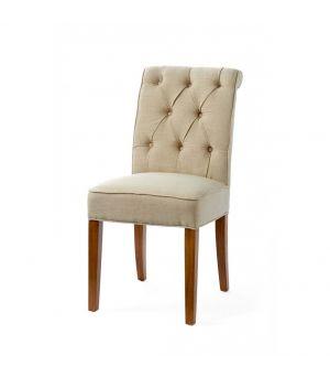Jídelní židle Hampton Classic, Flax, Linen
