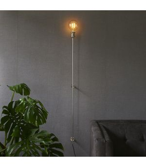 Hoxton Wall Lamp shiny silver