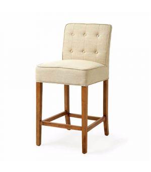 Barová židle Cape Breton Counter, Linen, Flax