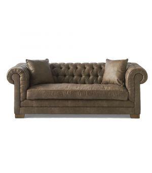 Sedačka Crescent Avenue Sofa 3s, Pellini, Coffee