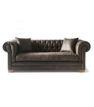 Sedačka Crescent Avenue Sofa 3s, Pellini, Espresso