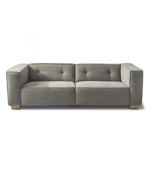 Hampton Heights Sofa 3.5s, Washed Cotton, Stone