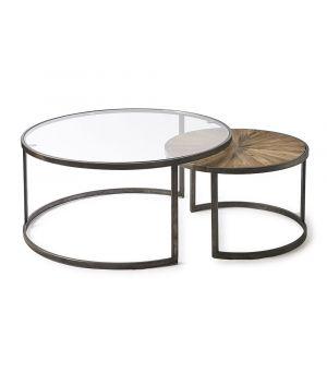 Konfereční stolek Cameron, sada 2ks