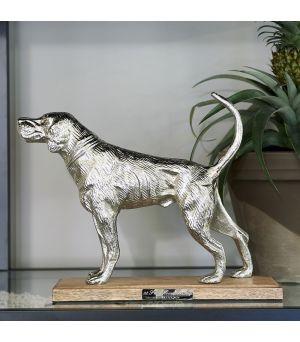 Dekorácia Happy Hunting Dog Statue