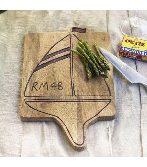 Prkýnko RM 48 Sailing Boat Chopping Board