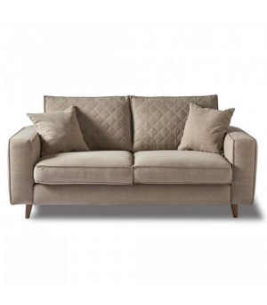 Kendall Sofa 2.5s, Washed Cotton, Natural