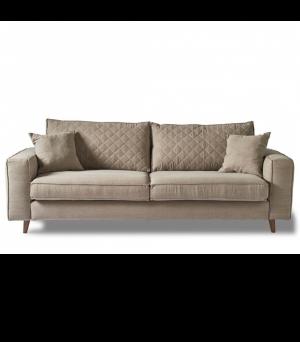Sedačka Kendall Sofa 3.5s, Washed Cotton, Naturel