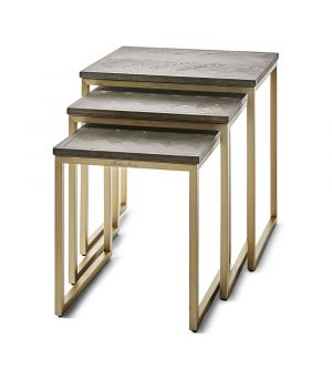 Stolky Costa Mesa End Table S/3