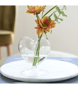 Happy Heart Flower Vase