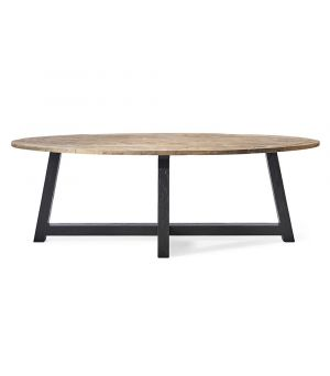 Canyamel Dining Table Oval Black ∅ 230 cm