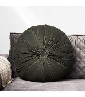 Polštář Velvet Round Pillow green