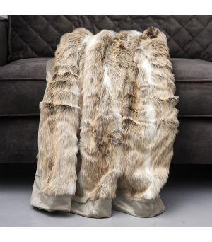 Deka Aspen Faux Fur Throw 170x130