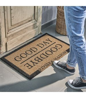 Good Day & Goodbye Doormat