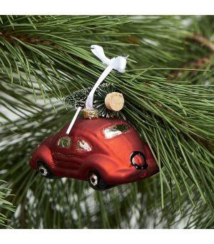 Vánoční ozdoba Winter Holiday Car