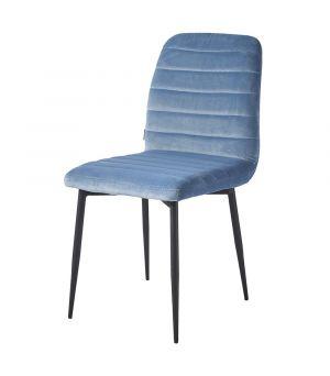 Jídelní židle Rockefeller Velvet Ice Blue