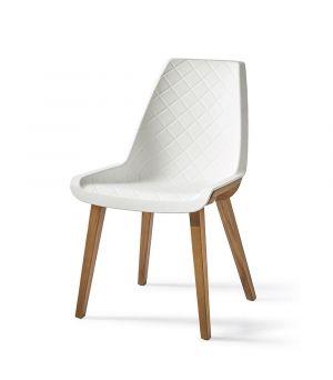 Jídelní židle Amsterdam City, White