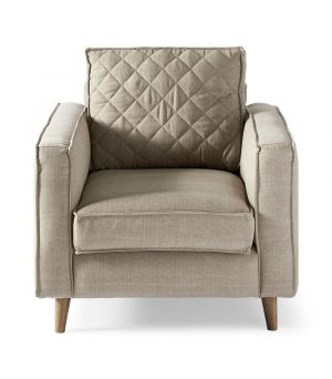 Křeslo Kendall Armchair, Washed Cotton
