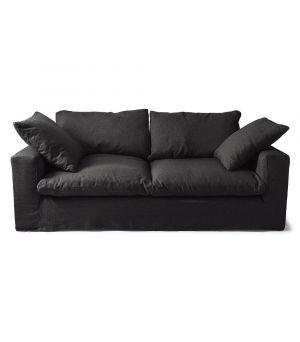 Sedačka Residenza 3.5s, Ofxord Weave, Basic Black