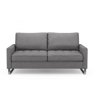 Sedačka West Houston 2,5s, Oxford Weave, Steel Grey