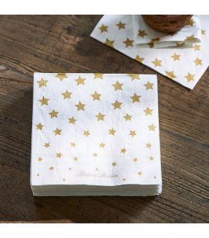 Ubrousky Paper Napkin Stars