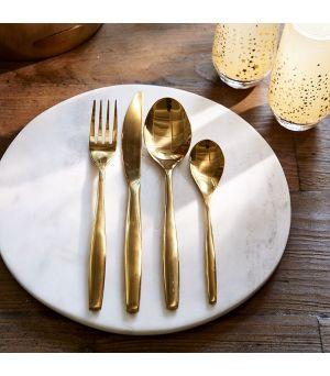 Jídelní příbor Classic RM Cutlery soft gold 4 pcs