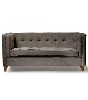 Sedačka Radziwill Sofa 2s, Linen, Grey