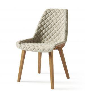 Jídelní židle Amsterdam City, Linen, Flax