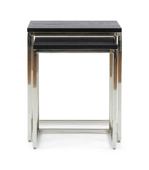Stolek Nomad End Table S/2 Black
