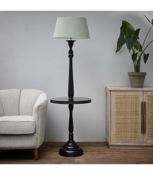 Stojací lampa Clareridge Floor Lamp black