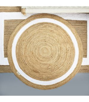 Rocat Round Carpet natural