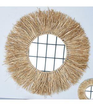 Zrkadlo South Cay Raffia Mirror