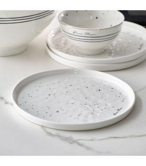 RM Dots & Stripes Breakfast Plate