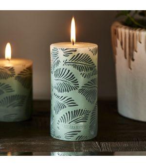 Svíčka Palm Leaves Candle 7 x 14