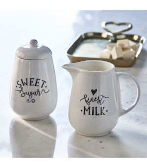 Sada nádob mléka a cukru Finest Milk & Sugar Set