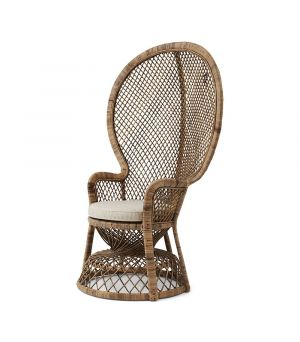 Křeslo Greenport Peacock Chair, Grey