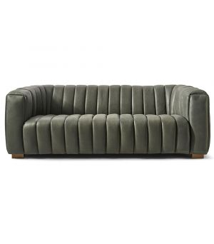 Sedačka Pulitzer Sofa 3.5s, Leather, Charcoal