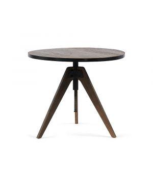 Jídelní stůl Whyte Bistro Adjustable, ∅70cm