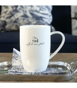 Hrnek na čaj S'il Vous Plaines Thé Mug