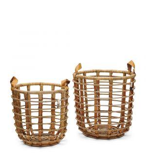 Ratanové koše Courageous Chique Basket Natural S/2