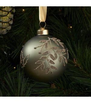 Vánoční ozdoba Lovely Mistletoe Ornament green Dia 8cm