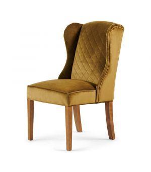 William Dining Chair, Velvet, Windsor Green