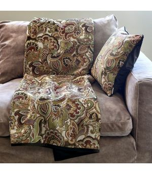 Pléd Nomade Paisley Throw 180 x 130