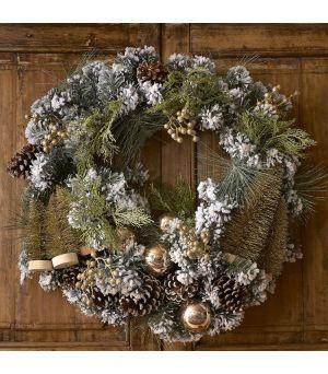 Vánoční věnec Wonderful Christmas Wreath 70 cm
