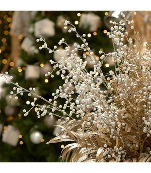 Vánoční větev  Pretty Pearls Branch